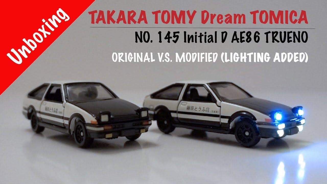 DREAM TOMICA #145 INITIAL D AE86 TRUENO