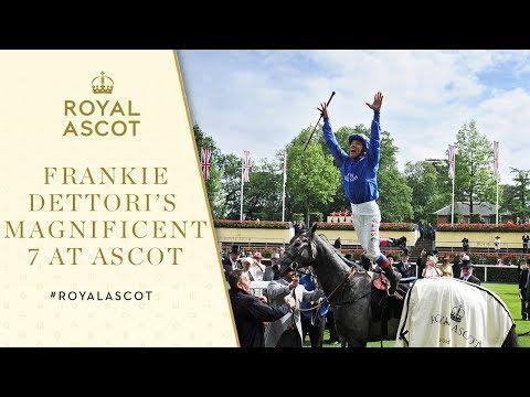 Frankie Dettori recalls his 'Magnificent 7' at Ascot - FULL INTERVIEW