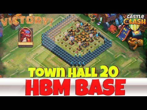 Building An HBM BASE | TOWN HALL 20 | #5 | CASTLE CLASH