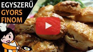Tepertős pogácsa - Recept Videók