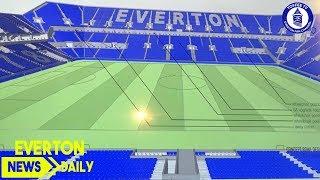 First Everton Stadium Plans Revealed | Everton News Daily