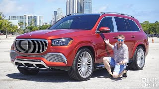 New Mercedes MAYBACH GLS 600! The Ultra Luxury SUV that Bounces