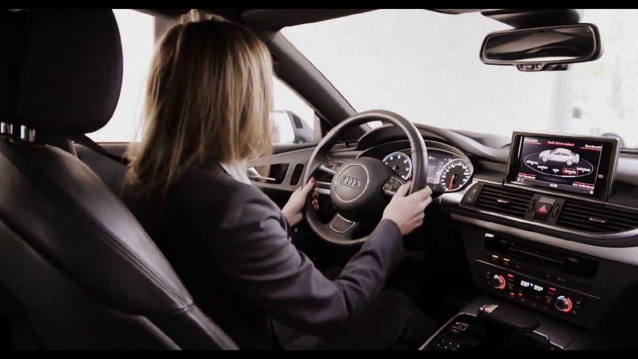 Audi Self Driving Auto Parking YouTube - Audi car that parks itself