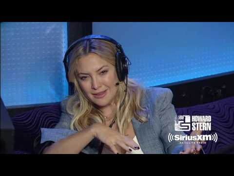 Kate Hudson on Her Relationships with Bill Hudson and Kurt Russell Howard Stern  2017