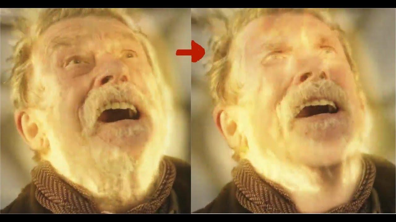 Doctor Who - John Hurt Regenerates into Christopher ...