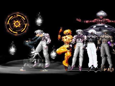 KOF Mugen Boss Orochi Iori AR VS Súper Orochi Team