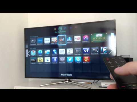 Présentation de ma TV SAMSUNG 55