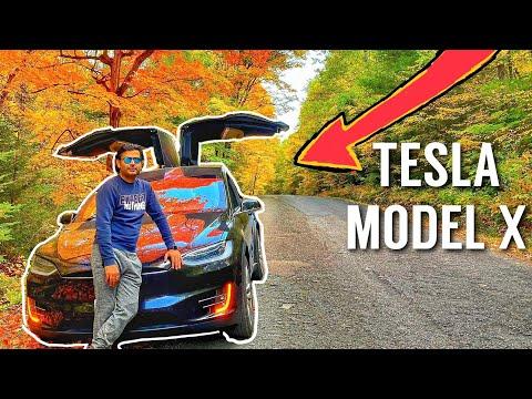 CANADA mein APUN KI CAR  | TESLA MODEL X