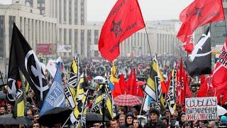 Митинг на проспекте Сахарова   29.09.19