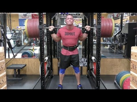 John Cena Weightlifting Workout. Training for WWE