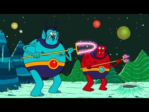 Uncle Grandpa Battles Space Creatures Geek Week Cartoon Network