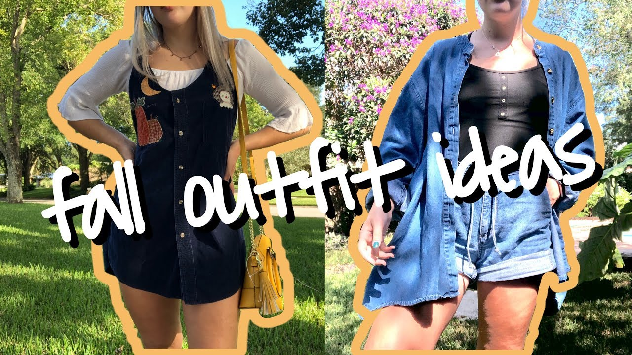[VIDEO] – fall outfit ideas for warm weather – dress code appropriate