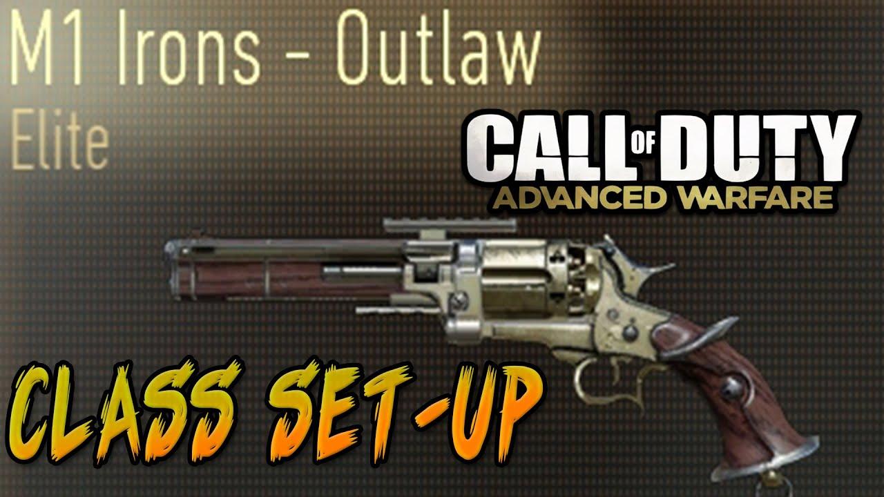"""M1 IRONS - OUTLAW"" - Elite Gun Class Set Ups (Call of ..."