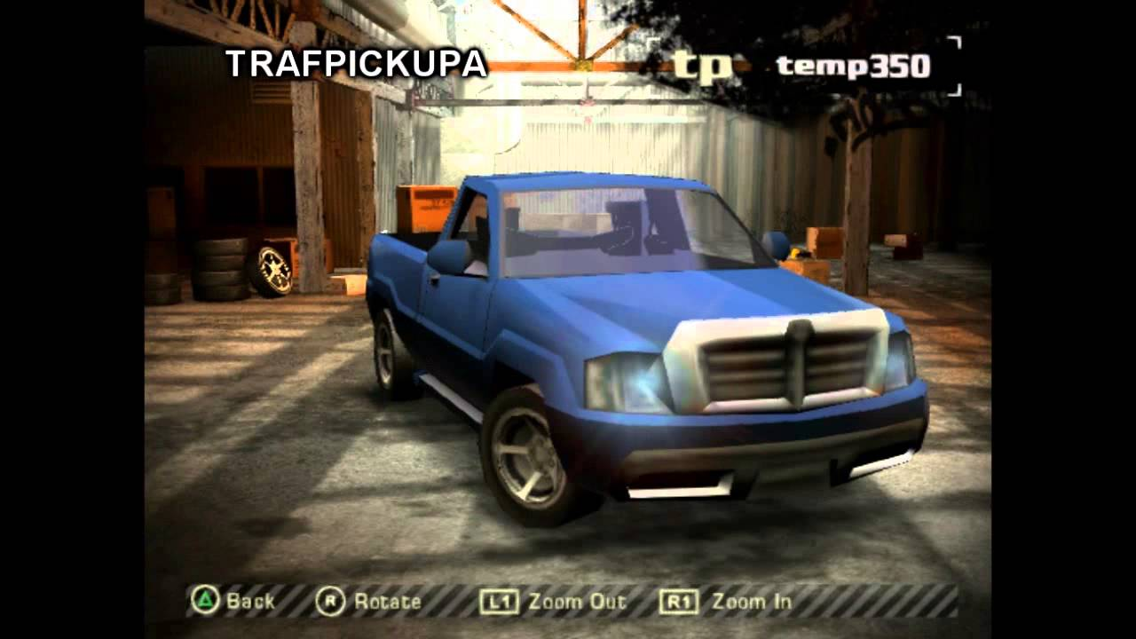 Nfs Most Wanted Playstation 2 Demo Cars Youtube