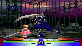 Battle Arena Toshinden 3 [PS1] - play as Naru