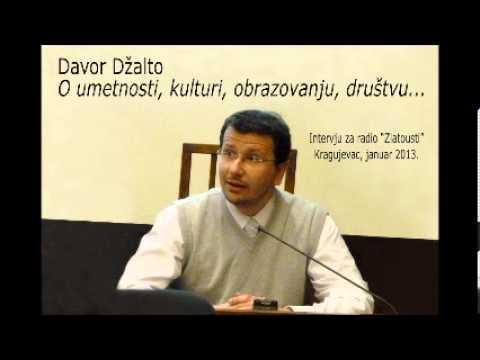 """Davor Džalto - Interview for radio """"Zlatousti"""" (in Serbian)"""