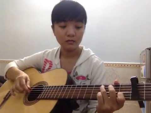Hòn đá cô đơn - Guitar solo - Khánh Vy
