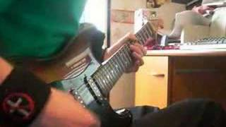 Slipknot - Disasterpiece on guitar.