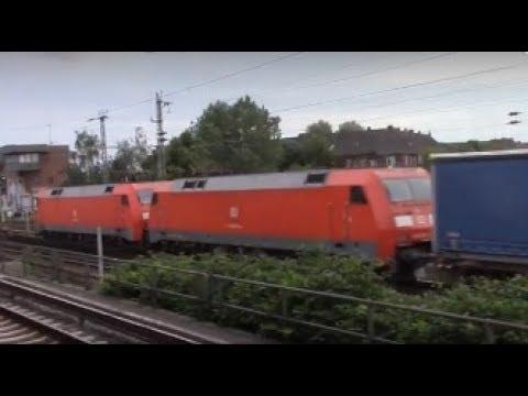 Dv42 goes Hamburg episode 3: Trains at Veddel station, Hamburg