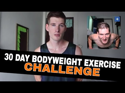 30 Day Bodyweight Exercise Challenge | Tips & Benefits