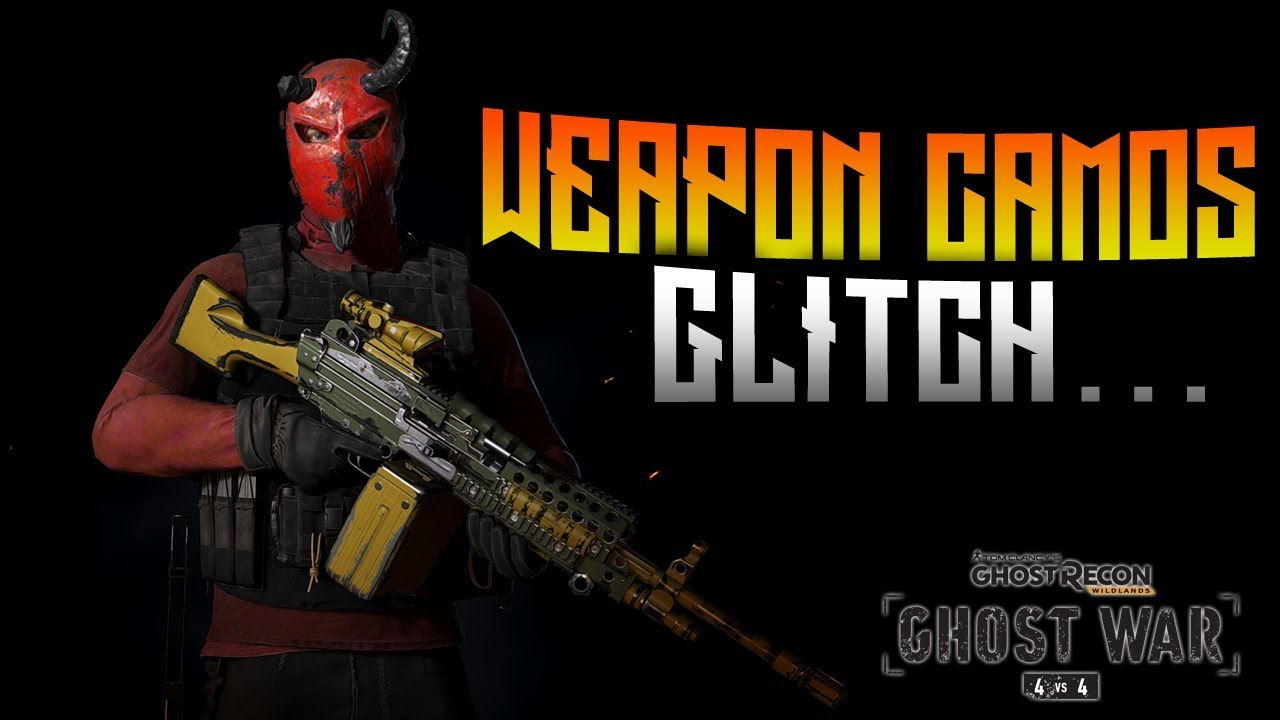 GHOST WAR - Use ALL Weapon Camos Glitch... - YouTube