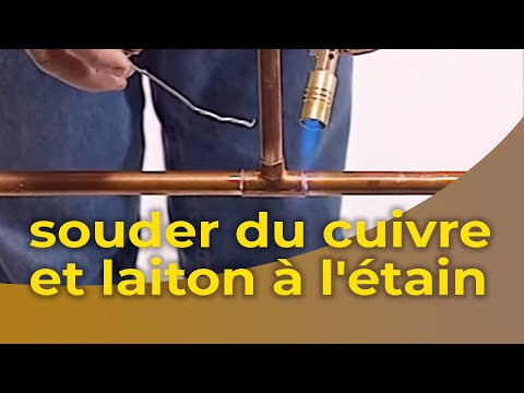 comment faire une brasure cuivre laiton tutorail video. Black Bedroom Furniture Sets. Home Design Ideas