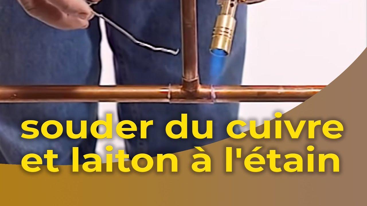 La Soudure Des Tuyaux Cuivre Et Laiton