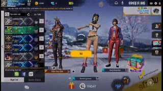Kay rank/ Free fire / sáng Sniper channel
