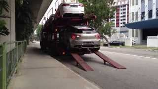 my Citroën DS5 being delivered :-)