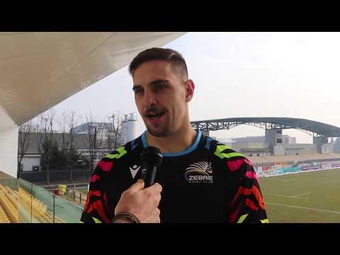 """""""Contro i Bristol Bears? Saremo agguerriti e maturi!"""" Mattia Bellini lancia la sfida agli Inglesi"""