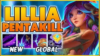 *41 KILLS* THE FIRST LILLIA PENTAKILL ON YOUTUBE!!! - BunnyFuFuu | League of Legends