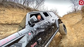 უტდ - Jeep Wrangler Rubicon - Off-road ტურში!