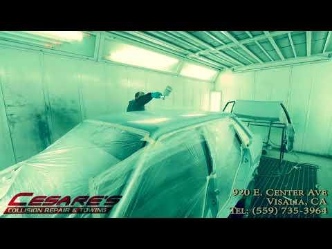 Cesare's Collision Repair & Towing Visalia, CA 559-735-3964 - YouTube