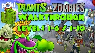 Plants vs Zombies! Poki Games Walkthrough