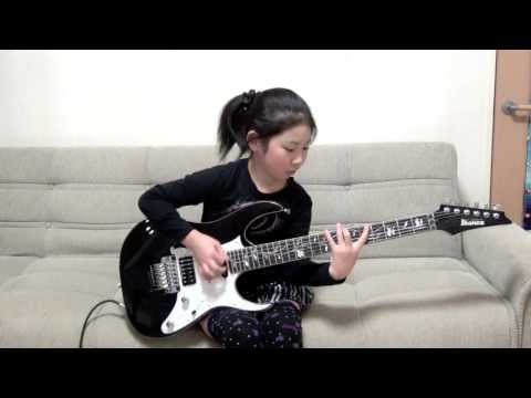 RACER X 'Scarified' Cover / Li-sa-X (Japanese 8 year old girl)