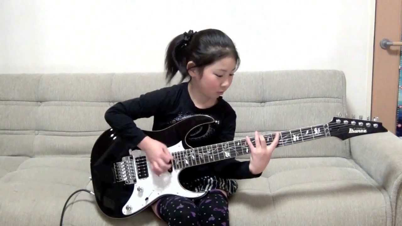 asian guitarist Famous female