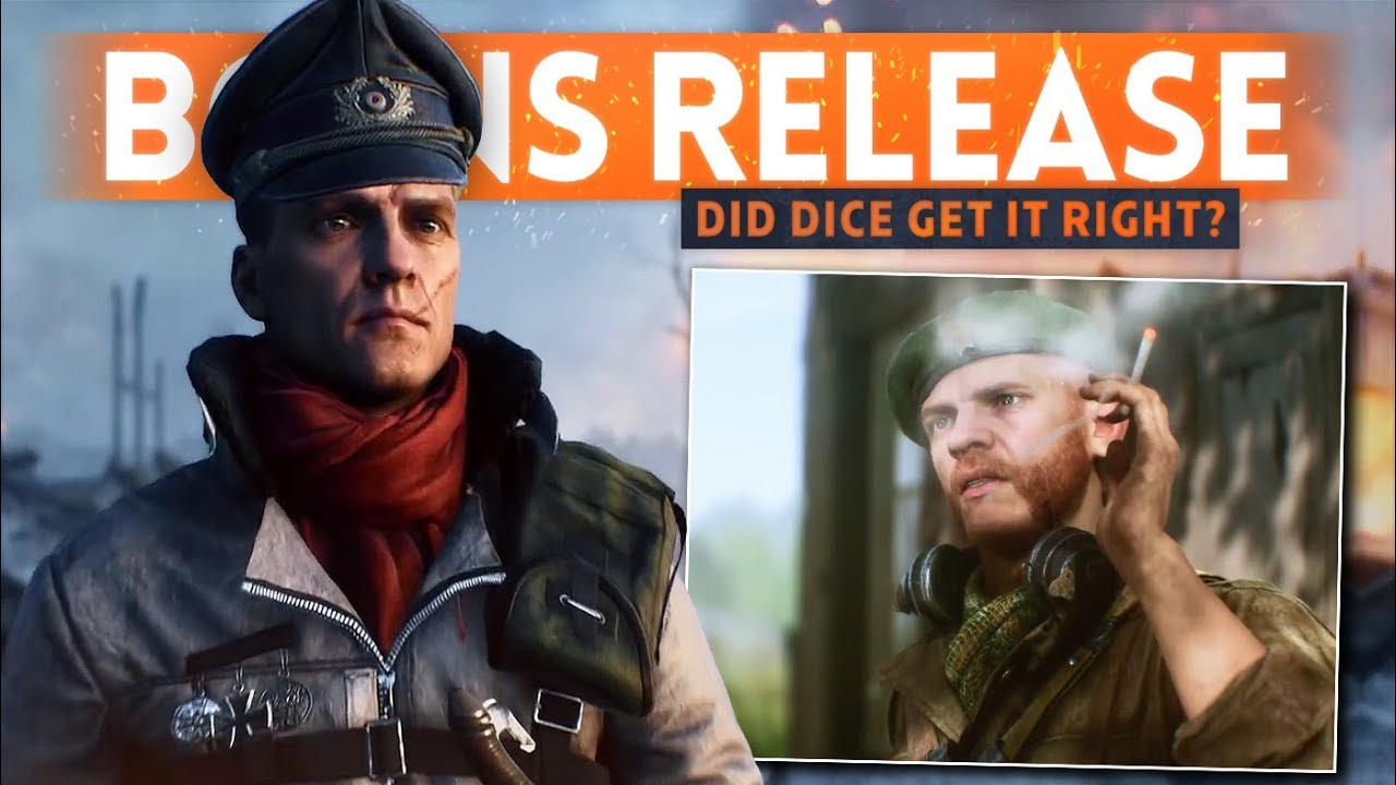 DICE FINALLY RELEASING BOINS... Have They Nailed It? - Battlefield 5 NEW Cosmetics Details