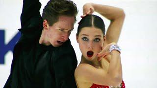 Ирина Хавронина Дарио Чиризано Ритм танец Гданьск Гран при по фигурному катанию 2021 22