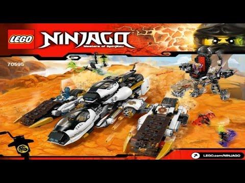 LEGO Ninjago 2016 ULTRA STEALTH RAIDER 70595 - Лего Ниндзя го Внедорожник с суперсистемой маскировки