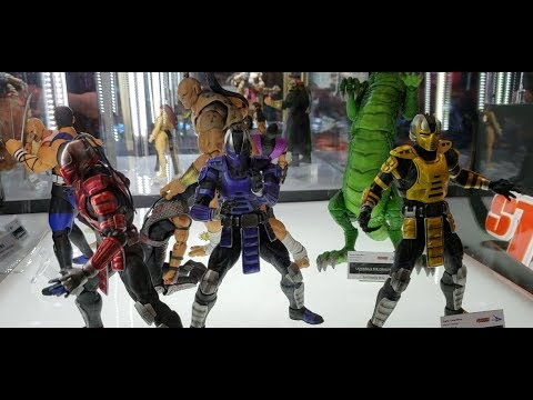Nycc 2018 Storm Collectibles Mortal Kombat Street Fighter Tekken King Of Fighters Youtube