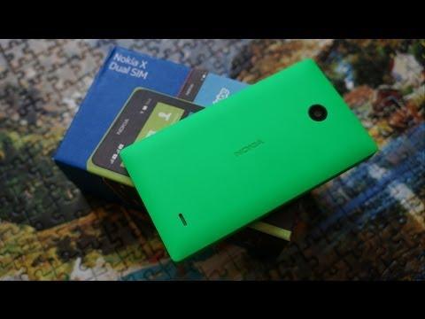 Распаковка Nokia X и предварительный обзор (unboxing)