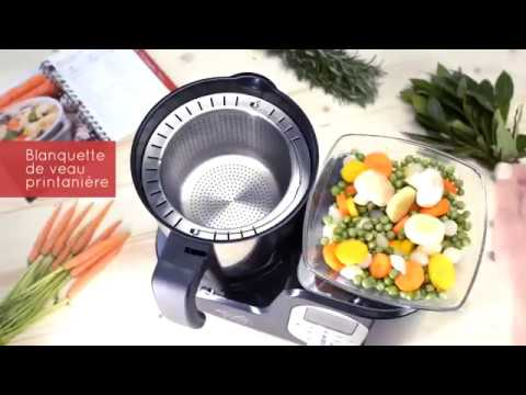 appetit cook - robot cuiseur chauffant - youtube