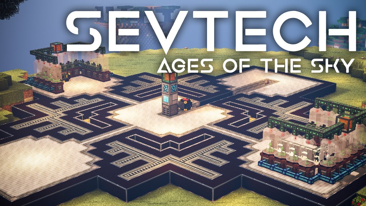 SevTech: Ages of the Sky Ep. 53 Mystical Agriculture Infinite Resources