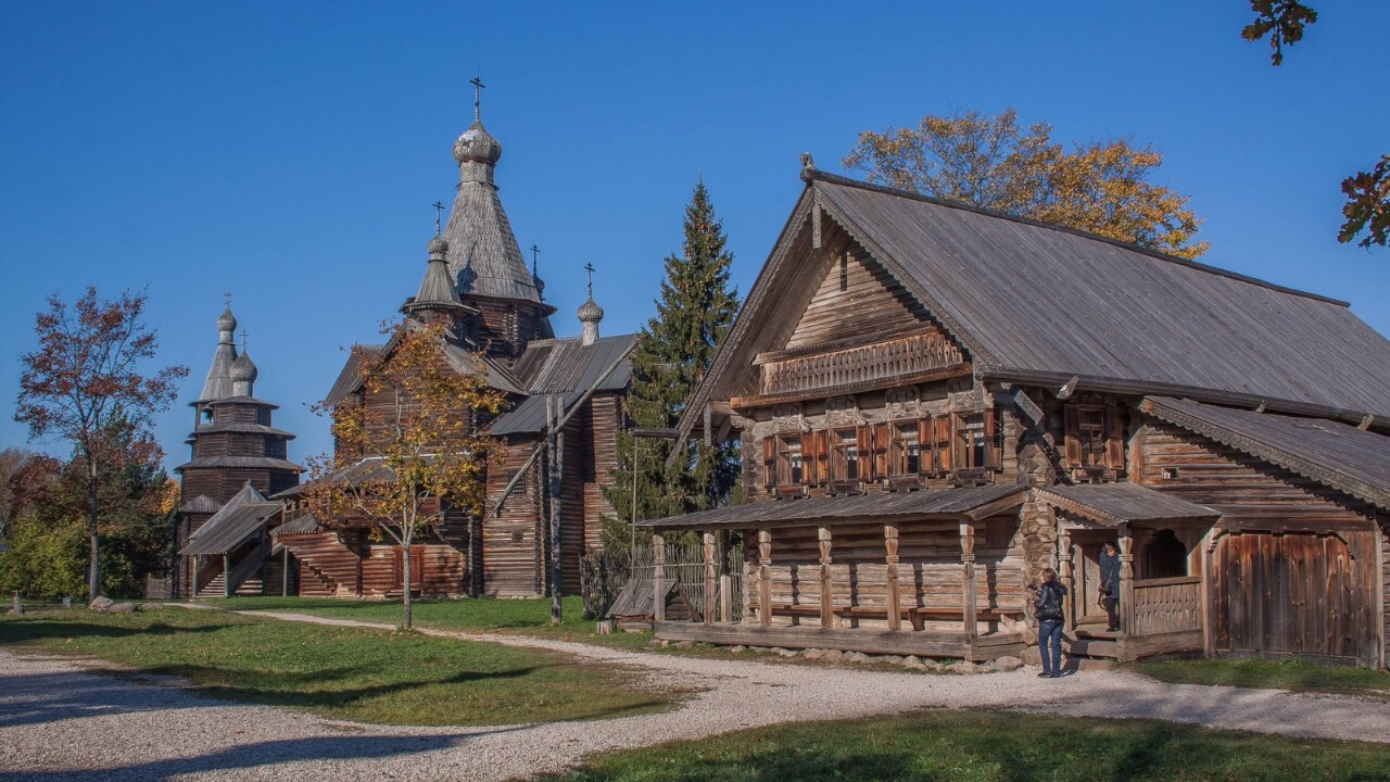 Suzdal - Museum of Wooden Architecture or the Ghost of the Dmitrievsky Pechora Monastery 5