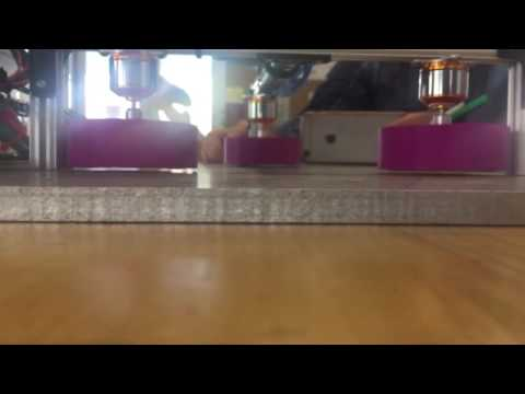 AZLoop - Magnetic Levitation Halbach Array Test