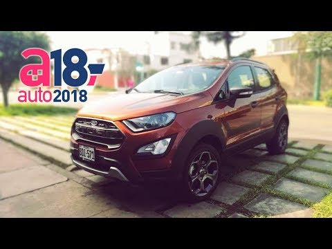 Nueva Ford Ecosport Storm Test Drive Review Prueba Auto 2018