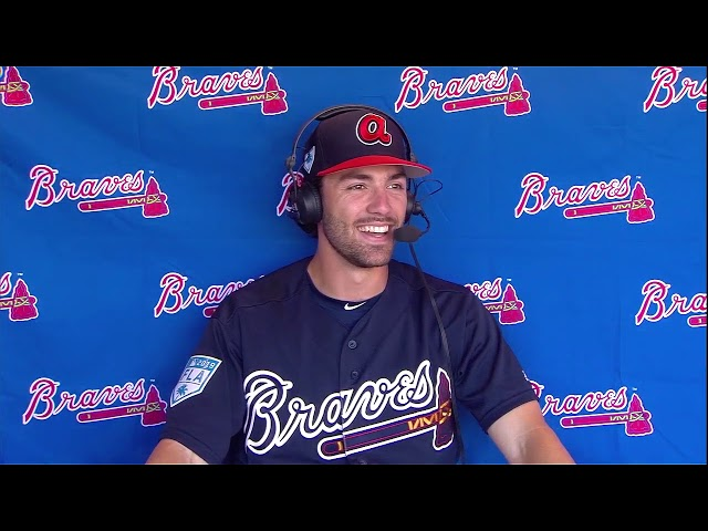Braves shortstop Dansby Swanson excited to be healthy for 2019 season