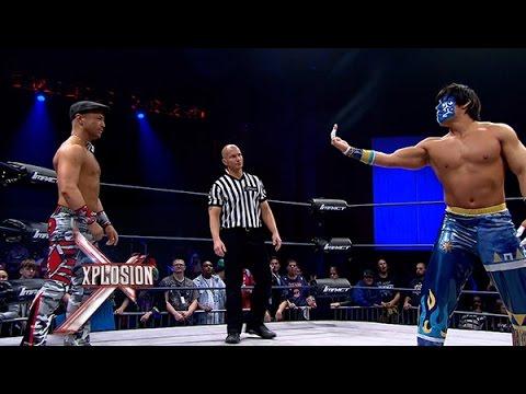 Xplosion Match:  The Great Sanada vs. Rockstar Spud