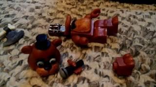 Lego fnaf die in a fire