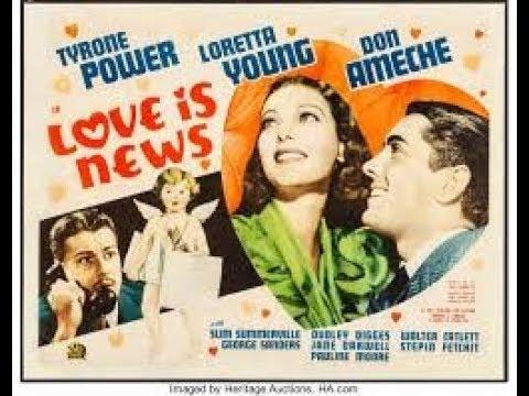 Love Is News 1937 Full Movie